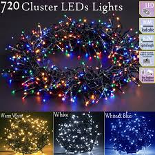 240 Multifunction Led Christmas Tree Lights Multi Coloured Details About 720 Led Multi Function Christmas Cluster String Lights Indoor Outdoor Tree Light