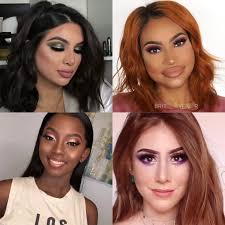 9 holiday makeup looks for diffe skin tones mompreneur