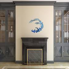large dolphin metal wall art on large metal dolphin wall art with large dolphin metal wall art 101210008 the home depot