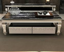china marble coffee table with silver stainless steel legs china table coffee table