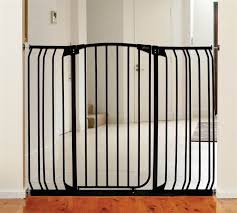 Dream Baby Extra Tall Swing Close Hallway Security Gate Combo (Black)