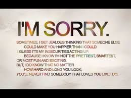 I'm Sorry Love Song YouTube Adorable I M Sorry Love