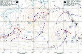 Atlantic Weather Charts