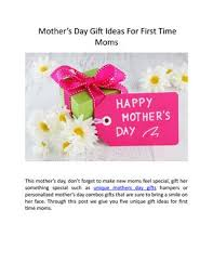 mother s day gift ideas for first time moms