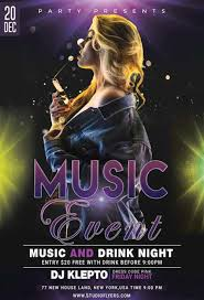 Create A Event Flyer Free Music Event Free Flyer Template Psd Freepsdflyer
