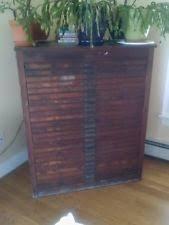 hamilton 24 drawer wood type printers letterpress cabinet solid oak excellent
