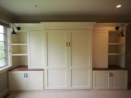 Custom built-ins and Murphy bed craftsman-bedroom