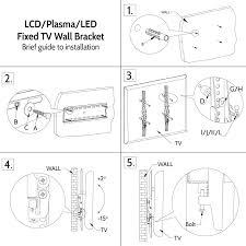 tv wall mount instructions photos and door tinfishclematis