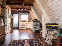 Peek+Inside+This+Adorable+A-Frame+Cabin+in+
