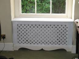 radiator cover ~ diy with an old dresser?