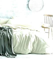 ikea linen duvet cover ivory cream bedding bedrooms pure canada white set