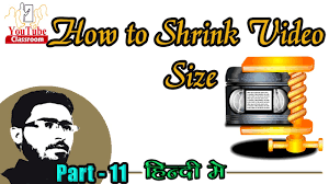 how to shrink video size 11 how to shrink video size for a youtube channel by youtube