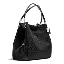 Womens Coach Madison COACH Madison - Large Phoebe Leather Shoulder Bag ...
