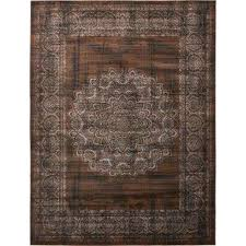 imperial cypress chocolate brown 13 0 x 19 8 area rug