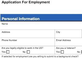 Printable Sample Job Applications Simple Job Application Form Sample Template Free Download Blank