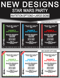 star wars birthday invite template star wars birthday party invitations signs new designs