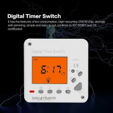 Electronic Light Timers Argos Lcd Display Back Light Weekly Digital Electronic Timer Time Switch Clock Alarm A