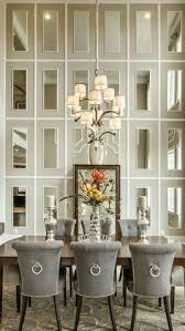 unique way to add drama to tall ceilings in the dining room home decor
