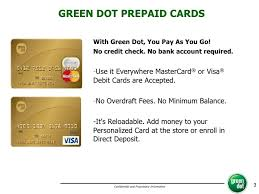 Maybe you would like to learn more about one of these? Green Dot Card
