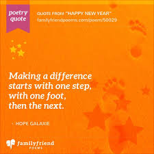 New Year Poems And Quotes