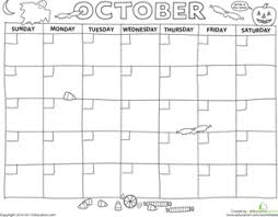 Small Picture Create a Calendar Preschool Printables Educationcom