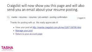 Craigslist Resumes Best 5018 Post Resume On Craigslist Should I Post My Resume On Craigslist 24