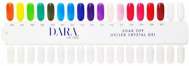 16 Color Chart Color Chart Crystal Gel 16 Colors