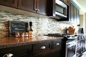kitchen backsplash ideas for dark cabinets vinaSteelnet