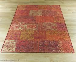 capri 91290 1000 red orange rug