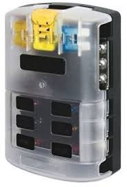 amazon com 12 circuit automotive fuse block w cover 4x4 12 circuit automotive fuse block w cover 4x4 vehicles