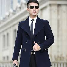 2018 whole 2016new man long trench coat wool coat winter peacoat men s wool coat mens overcoat men s coats male clothing package mail from jingju