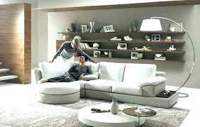 open shelves living room for modern floating shelf