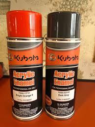 Kubota Paint Chart 2018 Kubota Grey Paint Color Orangetractortalks