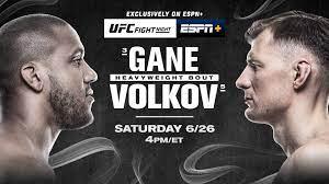 UFC Fight Night: Gane vs. Volkov June ...