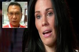 Mohammed Rosli Bin Ab Karim is alleged to have attacked Laura Bushey after she mentioned she was scared to fly after MH370 and MH17 disasters - MAIN-Laura-Bushney