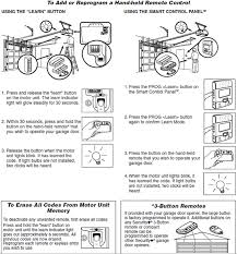 reprogram my liftmaster remote how to reprgram a garage within door opener manual prepare 9