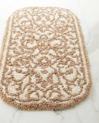 quick look graccioza damask bath rug