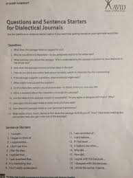 english ms vieira s classroom dialectical journal directions