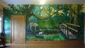 wallpaper wall murals add character to any room