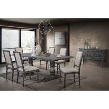 ahrens 7 piece solid wood dining set by one allium way