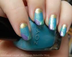 Quick Zoya Awakening Spring Folded Tips Nail Art!