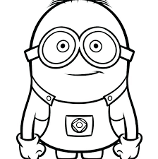 Cute Easy Coloring Pages Fun Printable Animal Funny Colo