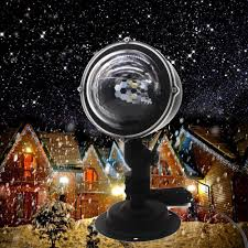 Lights That Look Like Snow Falling Us 24 76 35 Off Led Projector Waterproof Snow Falling Landscape Lamp Projection Light Holiday Snowfall Spotlight Wedding Snowflake Stage Lights In