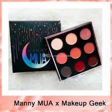 2017 new manny mua x makeup geek eyeshadow palette le bnib eyeshadow powder manny eyeshadow kit mua eye shadow palettedhl free best eyeshadow primer brown