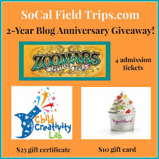 socal field trips giveaway