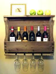 wall mounted wine racks wooden astonishing wooden wall mounted wine harlow wall mounted wine storage wall