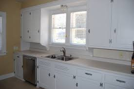 image of painting kitchen cabinets white without sanding