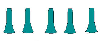 Mermaid Skirt Pattern Beauteous Shushanna Designs Trumpet Skirts