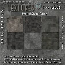 Slate floor texture Old ssf006 1024px Natural Slate Floor Textures With Realistic Aging And Relief Floor Second Life Marketplace Second Life Marketplace ssf006 1024px Natural Slate Floor