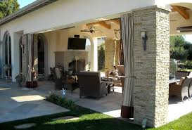 outdoor patios patio contemporary covered. decorating ideas for outdoor patios patio contemporary with covered stone wall ceiling fan t